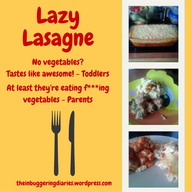 lazy lasagne filler
