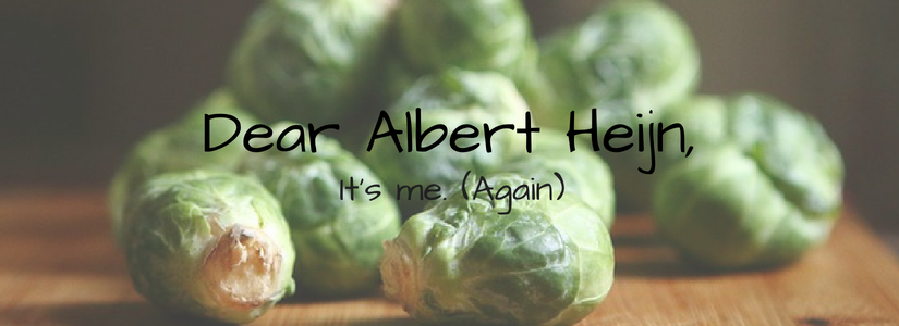 The one about Albert Heijn and  the sprouts …